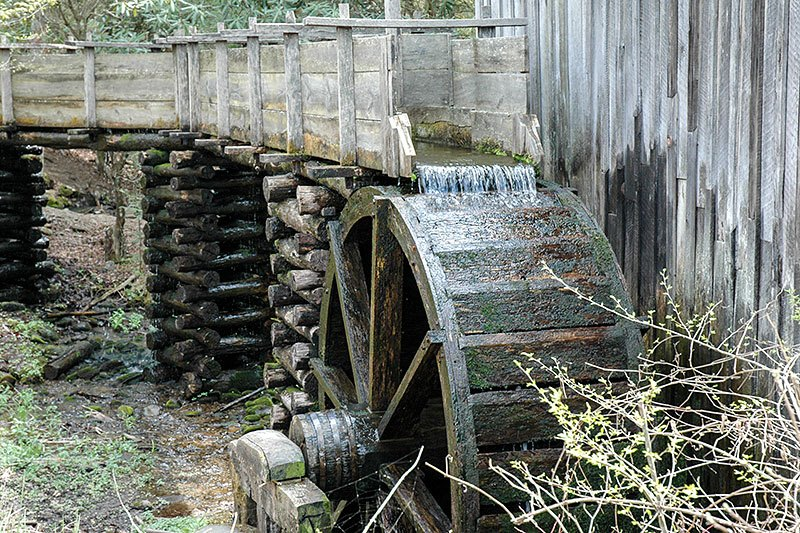 Cable Mill in Cades Cove, Tennessee